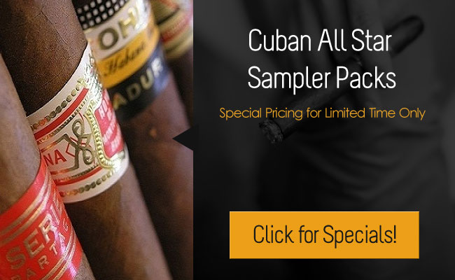 Cuban All Star Sampler Packs