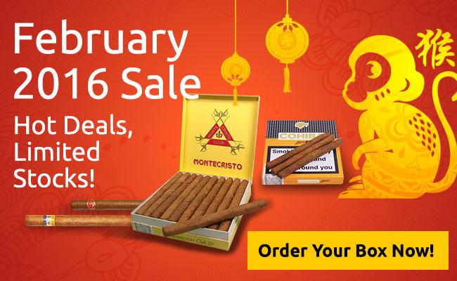 Cigar Terminal's February 2016 Sale