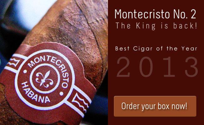 Montecristo No. 2 is back in stock