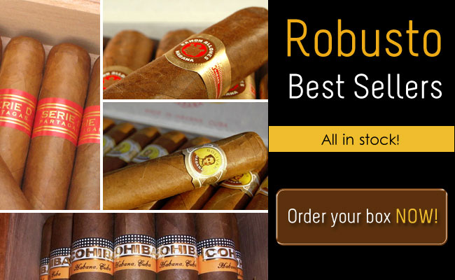 Robusto Best Sellers all in stock