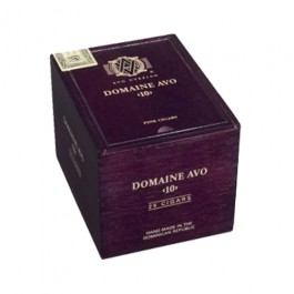 Avo Domaine No. 10, Natural - 25 cigars