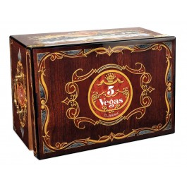 5 Vegas Tradition Humidor - Closed