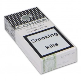 Cohiba Club White - 100 cigars (packs of 10)