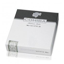 Cohiba Mini White - packs of 20 - closed