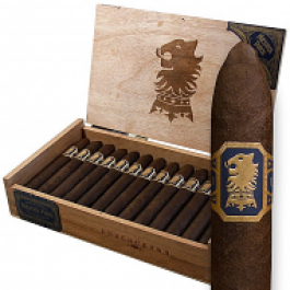 Drew Estate Undercrown Maduro Belicoso - 25 cigars open box and stick