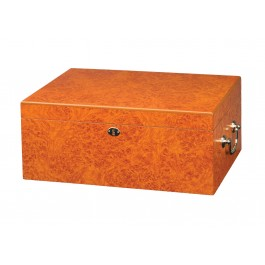 Tuscany Light Burl Humidor