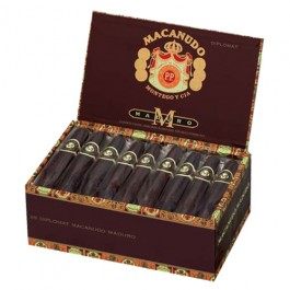 Macanudo Maduro Diplomat - 25 cigars