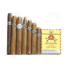 Handmade Montecristo Cigar Sampler, PLUS Monte Legends - 14 cigars