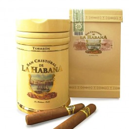 San Cristobal de la Habana Torreon Jar and cigars
