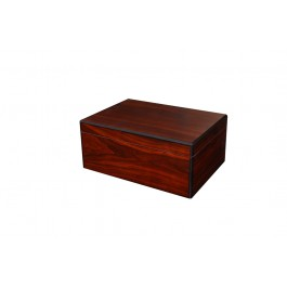 The Seguro Red Walnut Humidor - 50 cigars