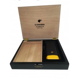 Cohiba Purera Cigar Case opened
