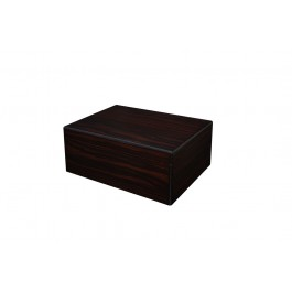 The Seguro Black Walnut Humidor - 50 cigars