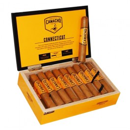 Camacho Connecticut Robusto - 20 cigars