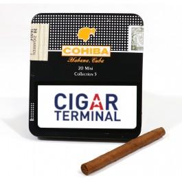 Cohiba Mini Colleccion 5 - tin and cigar