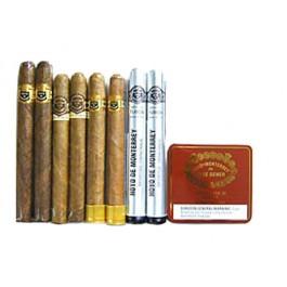 Handmade Hoyo de Monterrey Sampler - 8 cigars & 20 miniatures