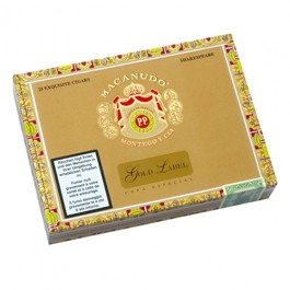 Macanudo Gold Label Shakespeare, Limited Edition - 25 cigars