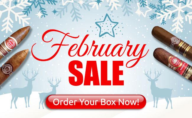 Cigar Terminal's February 2018 Sale