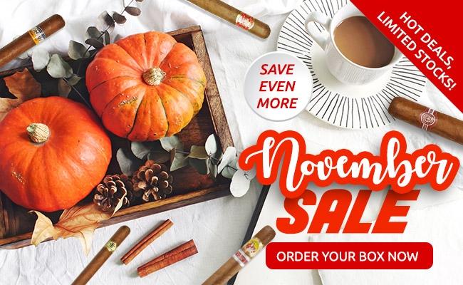 Cigar Terminal's November 2018 Sale