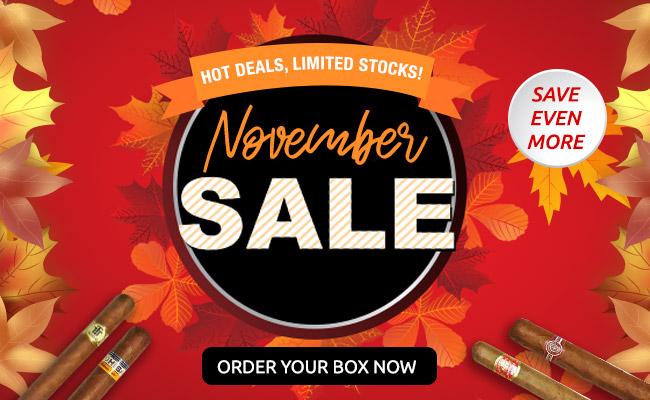 Cigar Terminal's November Sale
