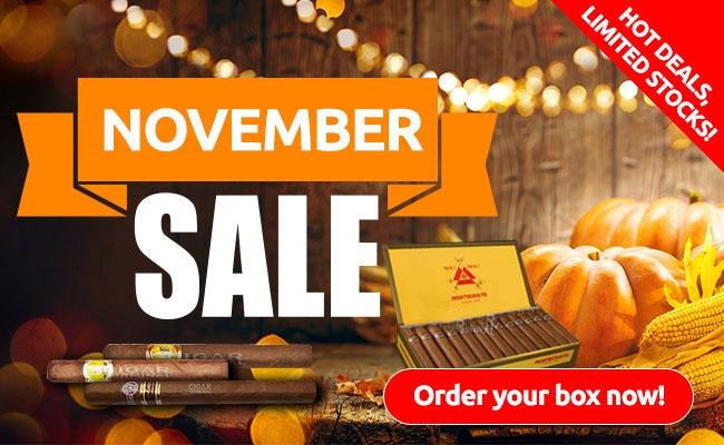 Cigar Terminal's November 2017 Sale