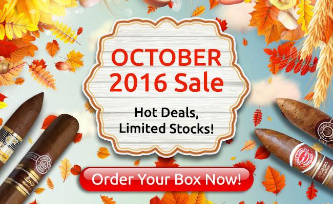 Cigar Terminal's October 2016 Sale